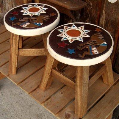 画像3: 人気者ココペリのスツール(椅子)