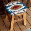 画像3: 人気のチマヨ柄のスツール(椅子) (3)