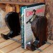 画像1: ブーツ 『木製ブックスタンド』 (1)