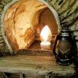 画像7: 樹脂製『幌馬車(カバードワゴン)ランプ』(Covered Wagon Lamp) (7)