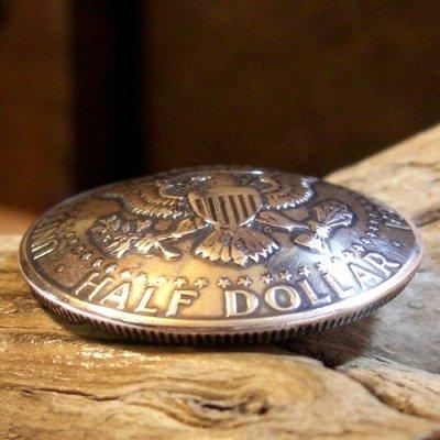 画像1: 50セント ケネデー コイン コンチョ