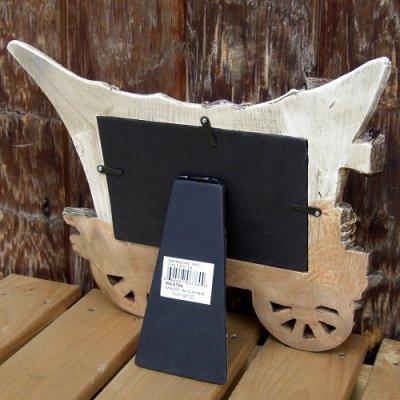 画像3: 幌馬車のデザインがシブイ 『写真立て』(Photo Frame)