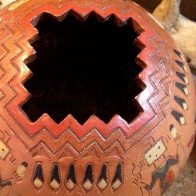 画像2: ナバホ族:ポット・壺(Indian Pottery)