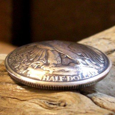 画像1: 50セント ウォーキングリバティー コイン コンチョ