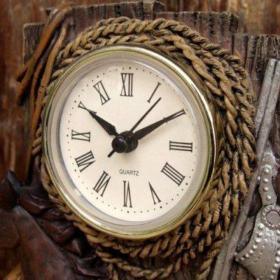 画像1: 樹脂製  『カントリー置き時計(Clock)』