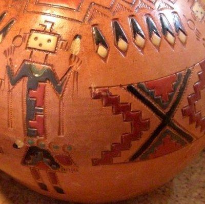 画像1: ナバホ族:ポット・壺(Indian Pottery)