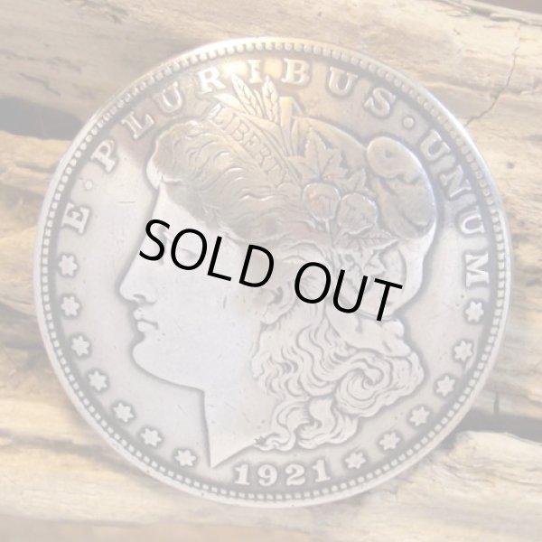 画像1: 1ドル モーガン コイン コンチョ (1)