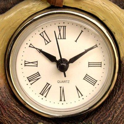 画像1: リアルな鹿角がカッコイイ 『置き時計』(Clock)