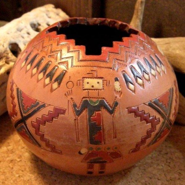 画像1: ナバホ族:ポット・壺(Indian Pottery) (1)
